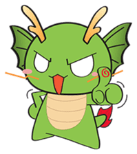 Dragy The Cute Baby Dragon sticker #2389963