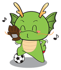 Dragy The Cute Baby Dragon sticker #2389964