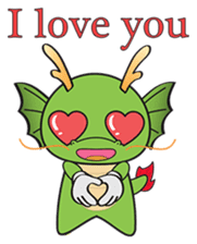 Dragy The Cute Baby Dragon sticker #2389965