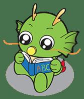 Dragy The Cute Baby Dragon sticker #2389972