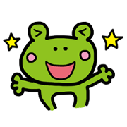 สติ๊กเกอร์ไลน์ kaeru_atarimaeno_hibi