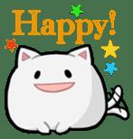 It is a cat-like. sticker #2394616