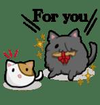 It is a cat-like. sticker #2394627