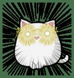 It is a cat-like. sticker #2394644