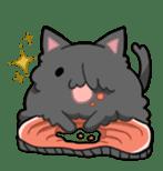 It is a cat-like. sticker #2394646