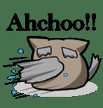 It is a cat-like. sticker #2394649