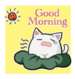 It is a cat-like. sticker #2394651