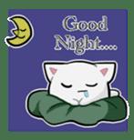 It is a cat-like. sticker #2394652