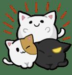 It is a cat-like. sticker #2394655