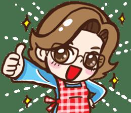 Super Mama sticker #2398179