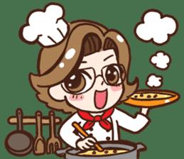 Super Mama sticker #2398191