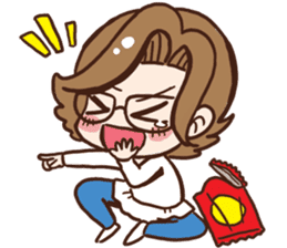 Super Mama sticker #2398201