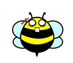 Honey Bee sticker #2408428