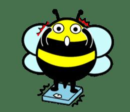 Honey Bee sticker #2408430