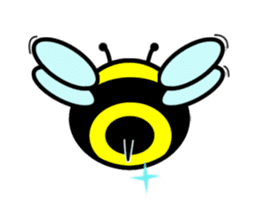 Honey Bee sticker #2408455