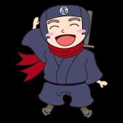 สติ๊กเกอร์ไลน์ Ninja Tobikage Vol.1