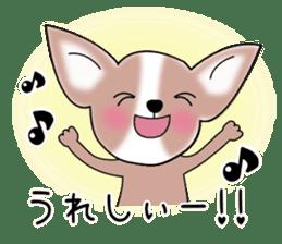 Talkative Smooth Coat Chihuahua PART2 sticker #2416856