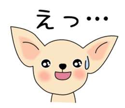 Talkative Smooth Coat Chihuahua PART2 sticker #2416859
