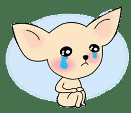 Talkative Smooth Coat Chihuahua PART2 sticker #2416860