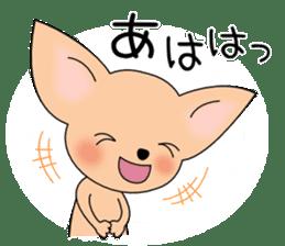 Talkative Smooth Coat Chihuahua PART2 sticker #2416862