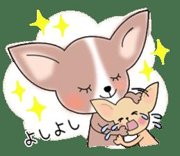 Talkative Smooth Coat Chihuahua PART2 sticker #2416867