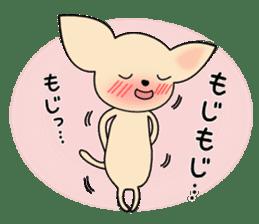 Talkative Smooth Coat Chihuahua PART2 sticker #2416868