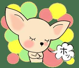 Talkative Smooth Coat Chihuahua PART2 sticker #2416879