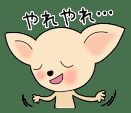 Talkative Smooth Coat Chihuahua PART2 sticker #2416883