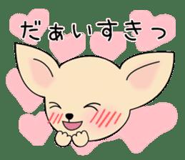 Talkative Smooth Coat Chihuahua PART2 sticker #2416888