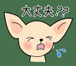 Talkative Smooth Coat Chihuahua PART2 sticker #2416891