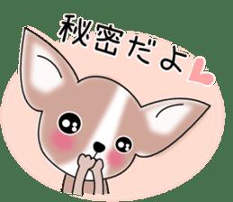 Talkative Smooth Coat Chihuahua PART2 sticker #2416892