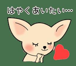 Talkative Smooth Coat Chihuahua PART2 sticker #2416893