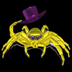 KUMONOSUKE of a golden spider
