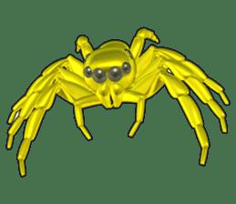 KUMONOSUKE of a golden spider sticker #2418936