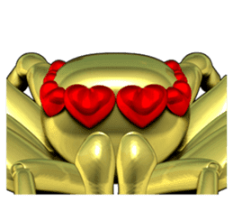 KUMONOSUKE of a golden spider sticker #2418940