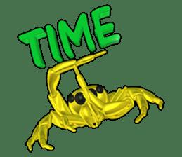 KUMONOSUKE of a golden spider sticker #2418943