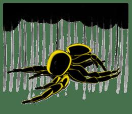 KUMONOSUKE of a golden spider sticker #2418948