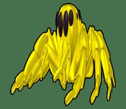 KUMONOSUKE of a golden spider sticker #2418954
