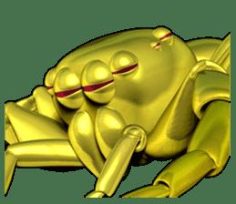 KUMONOSUKE of a golden spider sticker #2418956