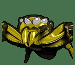 KUMONOSUKE of a golden spider sticker #2418960