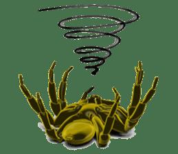KUMONOSUKE of a golden spider sticker #2418961