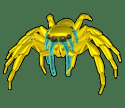 KUMONOSUKE of a golden spider sticker #2418964