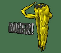 KUMONOSUKE of a golden spider sticker #2418971