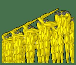 KUMONOSUKE of a golden spider sticker #2418972