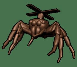 KUMONOSUKE of a golden spider sticker #2418973