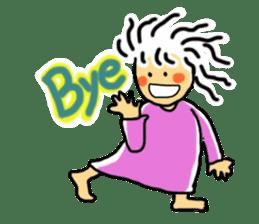 girl M sticker #2423652