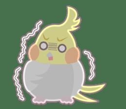 Everyday Cockatiel! sticker #2427067