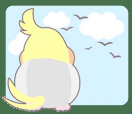 Everyday Cockatiel! sticker #2427072