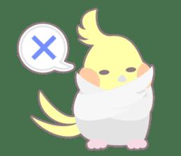 Everyday Cockatiel! sticker #2427080
