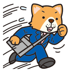 Businessman of the dog